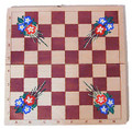 Floral Chess Set