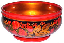 Since each bowl is handcrafted and handpainted there will be some variation in shape and painted detail.
