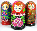 Floral 5 nest - Assorted