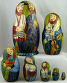 Jewish Matryoshka by Burdunina