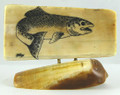 Salmon Scrimshaw