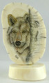 Wolf Scrimshaw by Steve Revet