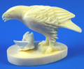 Ivory Eagle with Salmon