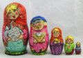 Village Scene Matryoshka