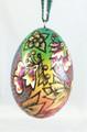 WoodBurned FireBird Egg