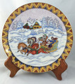 Troika Plate, Lomonosov Collectible