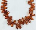 Amber Beads Oblepikha
