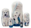 Polar Bear - Set of 5 Dolls