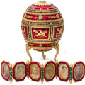 Napoleon Large Fabergé Style Egg