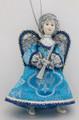 Angel with Horn - Blue Dress