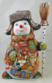 Cheerful Snowman - SOLD!