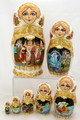 The Tale of Tsar Saltan Nesting Doll