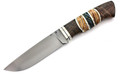 Russian Knife with Mammoth tooth inlay handle