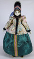 Marina - Hanging doll in Russian costume.
