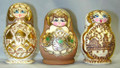 Small 5 nest Assorted Doll
