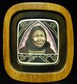 """Portrait"" Scrimshaw by E.V. Wick"