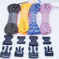 4 Color Paracord Bracelet Kit