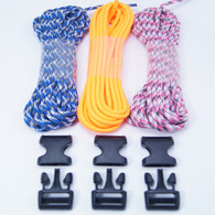 3 Color Paracord Bracelet Kit