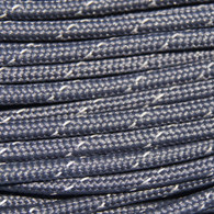 Gray Reflective 550 Paracord Cord and Parachute Cord 100FT