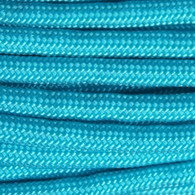 Neon Turquoise 550 Paracord Cord and Parachute Cord 100FT