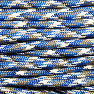 Blue Camo Polyester