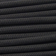 Black 550 Paracord Cord and Parachute Cord