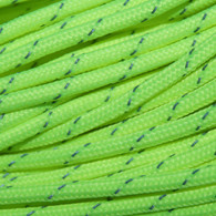 Neon Green Reflective 550 Paracord Cord and Parachute Cord