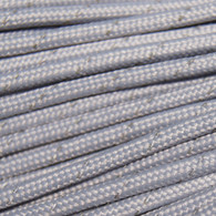 Silver Reflective 550 Paracord Cord and Parachute Cord 100FT