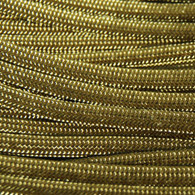 Gold 550 Paracord Cord and Parachute Cord
