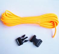Neon Orange Paracord Bracelet Kit