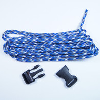 Blue Camo Paracord Bracelet Kit