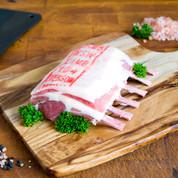 Lamb: Rack $53.50/kg