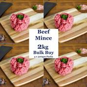 Beef: Mince 2kg BULK BUY SPECIAL $17.50/kg