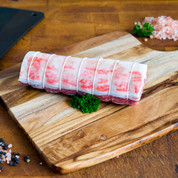 Lamb: Rolled Loin Roast $49.99/kg