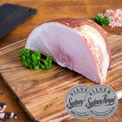 Pork: Pasture Fed Free Range Ham - 1.2kg Boneless Quarter $29.99/kg