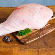 CHRISTMAS PRE-ORDER Pasture Fed Free Range Pork: Whole Leg - Gammon $16.00/kg