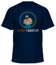 Our BEAR HUNTER shirt in NAVY.
