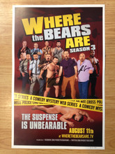 WTBA Season 3 Poster (AUTOGRAPHED) LIMITED EDITION