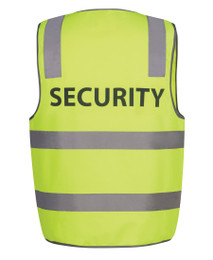 6DNS -  HI VIS D+N SAFETY VEST SECURITY/STAFF/VISITOR