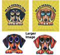 Cool Dachshund Lens Glasses Cleaning Cloth - Sarah Luv Design