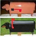 Dachshund Mailbox