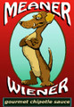 Meaner Wiener Gourmet Chipotle Sauce - Long Dog Dachshund Sauce