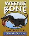 Weenie Bone Hickory Steak Sauce - Long Dog Dachshund Sauce