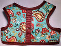 Mr. Wags Custom Dachshund Walking Harness Vest - Southwestern