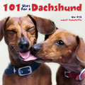 Hardcover Book - 101 Uses for a Dachshund (wcp30313)