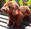 Medium FRANK Dachshund Dog from Ty Beanie Collection (13 inch long)