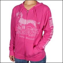 Heliconia Pink III Dachshunds Logo Unisex Hoodie Shirt