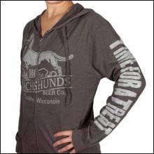 Charcoal Grey III Dachshunds Logo Unisex Hoodie Shirt