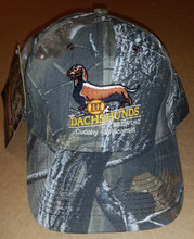 III Dachshunds Ale Logo RealTree® CAMO Camoflage Hat Cap