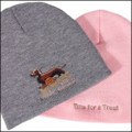 III Dachshunds Heavy Weight Knit Cap with Ale Logo